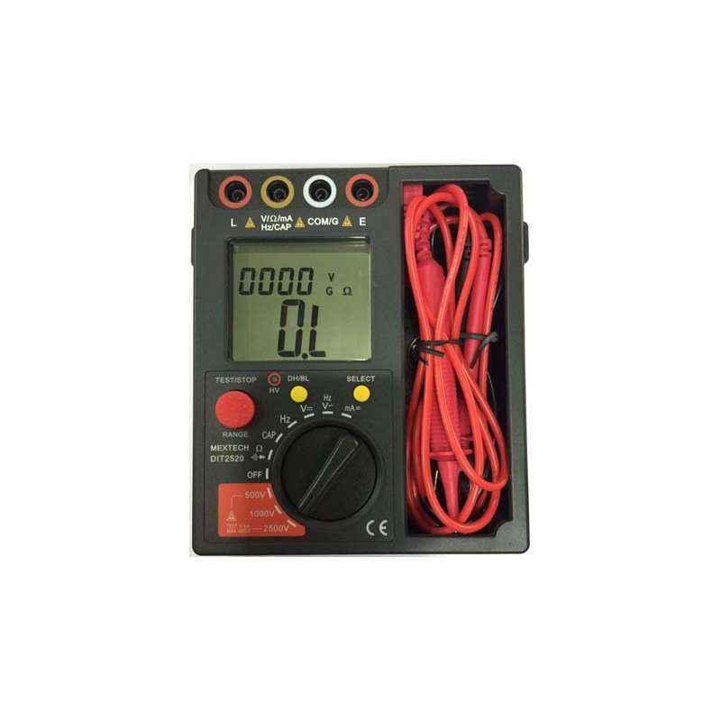 Mextech DIT-2520 Insulation Resistance Tester