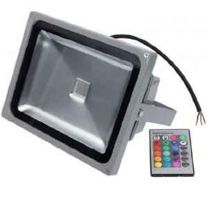 Best Deal 20W RGB LED Flood Light, BD-049 (Pack of 2)