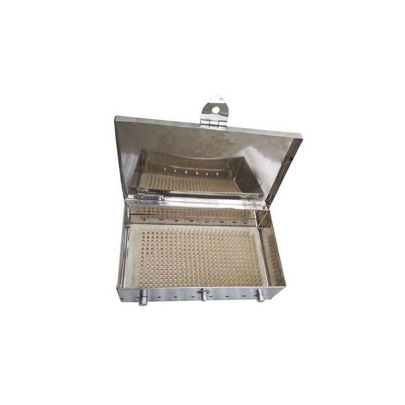 Shakuntla Dental Square Stainless Steel Sterilizer Box