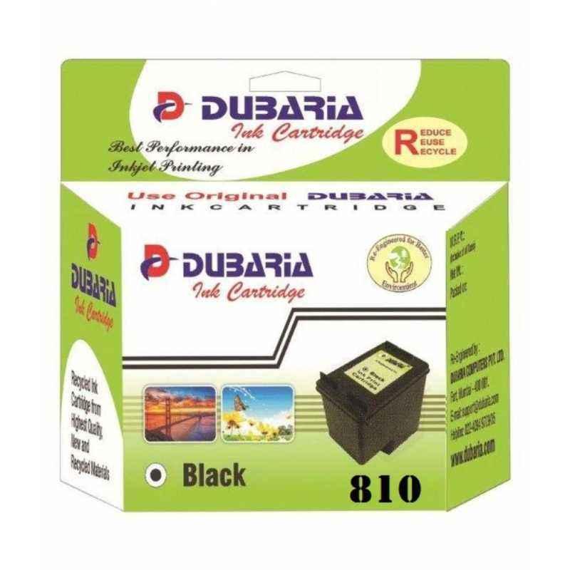 Dubaria 810 Black Ink Cartridge For Canon Printers