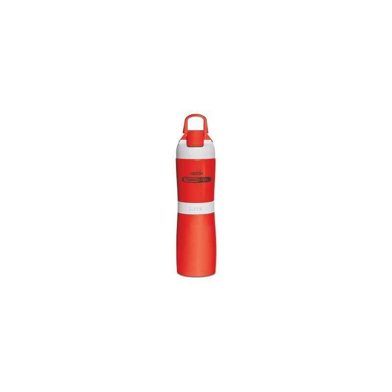 Milton Thermosteel Sleek 400ml Red Water Bottle, M1117-MTSR-40