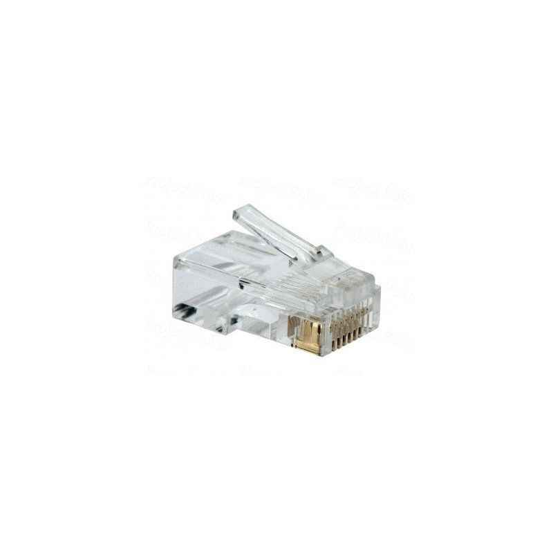 D-Link NPG-5E1TRA031 100 Plastic RJ45 Cable Connector (Pack of 100)