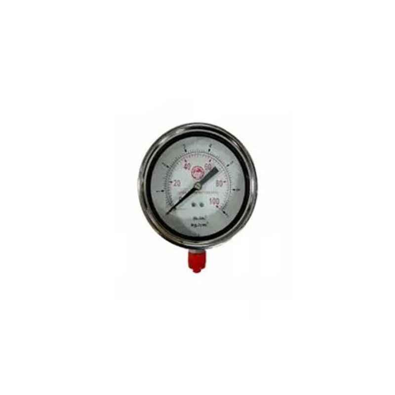 Bellstone 0-200 psi Pressure Gauge, BO-200-PSI