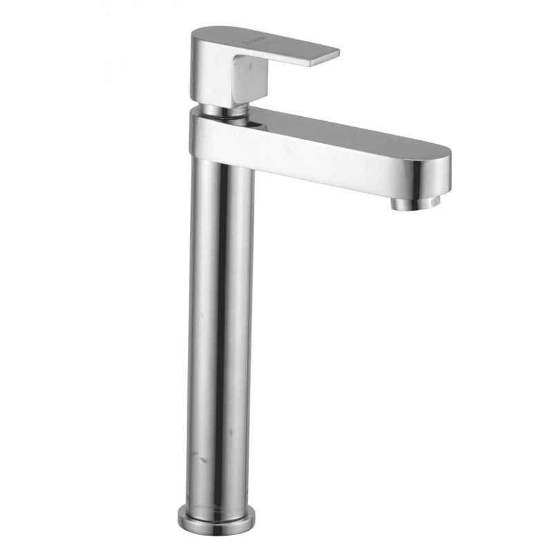Jainex Era High Neck Pillar Faucet with Free Tap Cleaner, ERA-6625