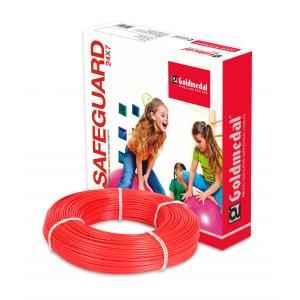 Goldmedal 90m 1.5 Sq mm Red FR PVC Wire