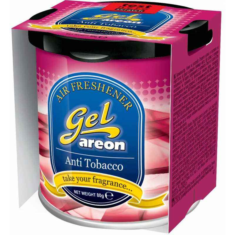 Areon 80g Anti Tobacco Gel Air Freshener For Car, GCK13