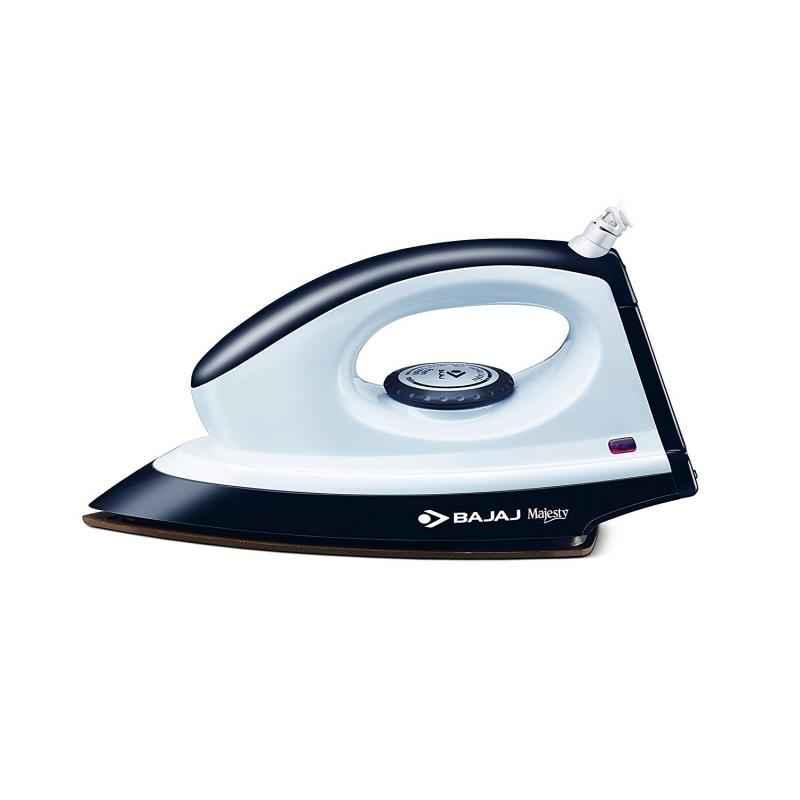 Bajaj Majesty 1000W Grey & White Dry Iron, DX8