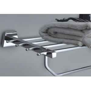 Bath Age Platinum Towel Rack, JPL 306