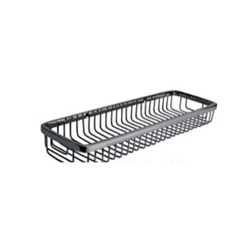 Bath Age Wire Basket Shelf, JAL 1603, Size: 4x14 Inch