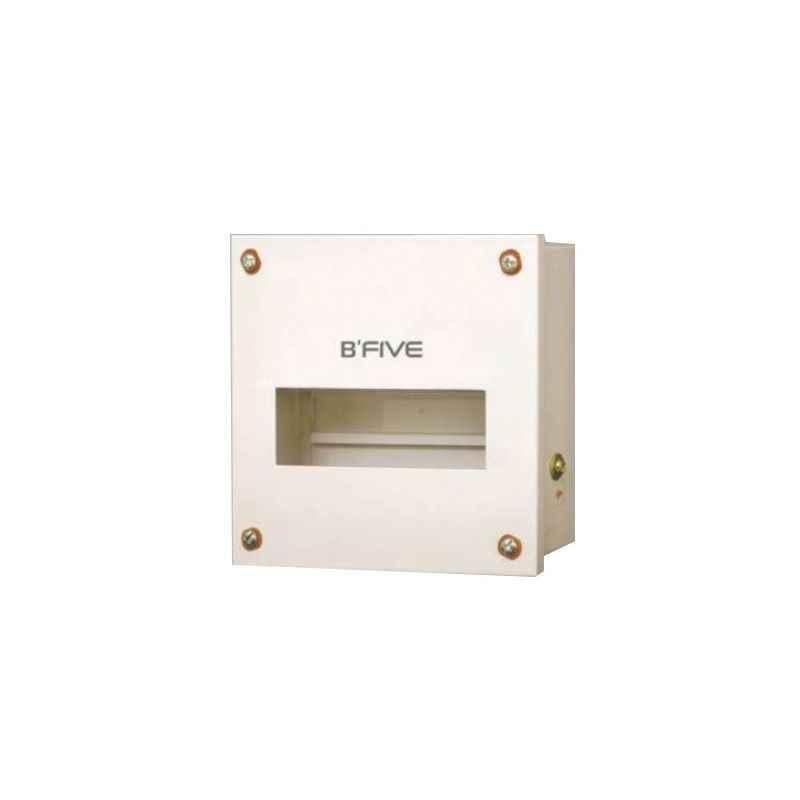 B-Five 8 Way Single Door MCB Distribution Box, B-157