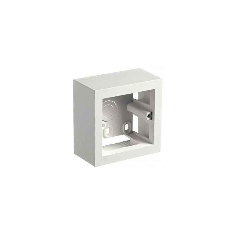 Legrand Myrius 1/2 Modules Plastic Surface Mounting Box, 6733 02