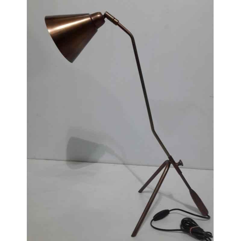 The Brighter Side Portia Copper Table Lamp