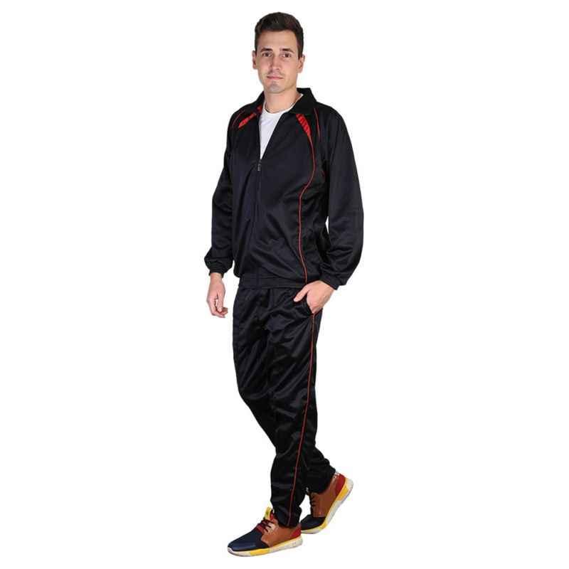 VDG T019 Black Sportswear Tracksuit, Size: 36