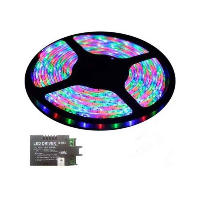 VRCT 3W RGB Decorative Wall LED Strip Light with Adaptor, DL-588
