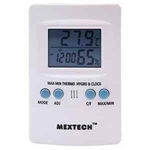 Mextech IT-202 Digital Thermo Hygrometer, Temperature Range: -50 to 70 deg C