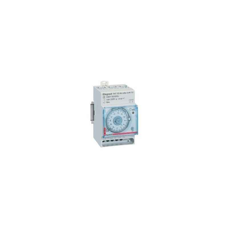 Legrand Microrex QW11 -Weekly Time Switch, 4128 94