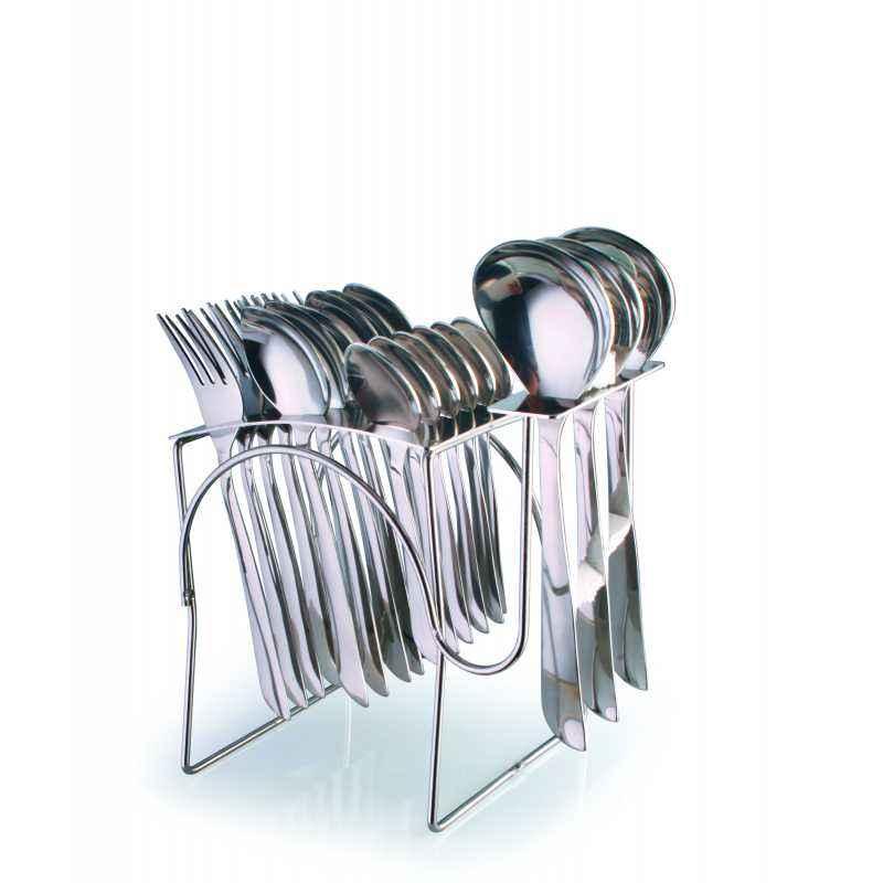 Elegante 21 Pieces Carole Symphony Stainless Steel Cutlery Set, SL-136