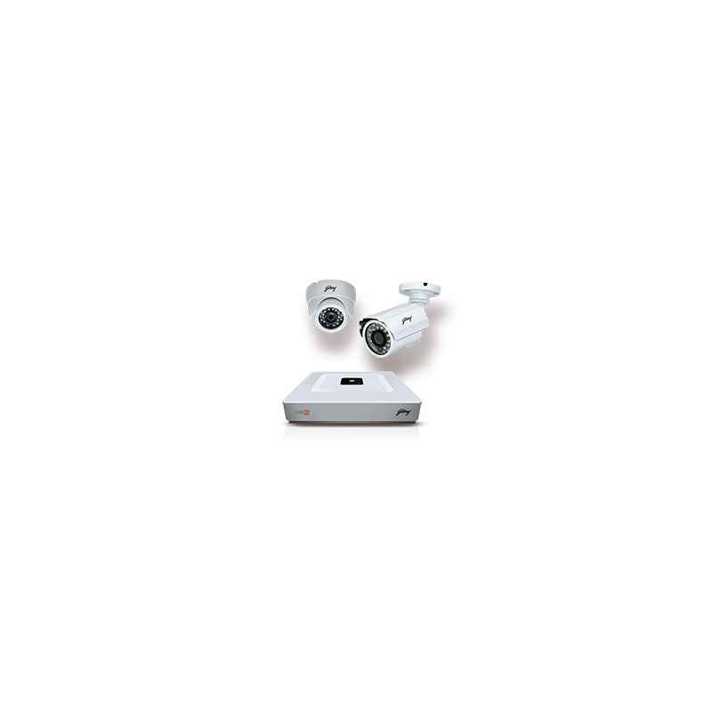 Godrej SeeThru Quadra HD 1080P Lite Hybrid CCTV Camera