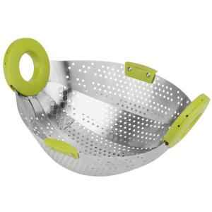 SM Drain Basket Colander Strainer For Fruits, Vegetables & Rice