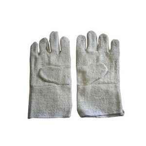 Asbestos 12 Inch White Hand Gloves, AMC 41