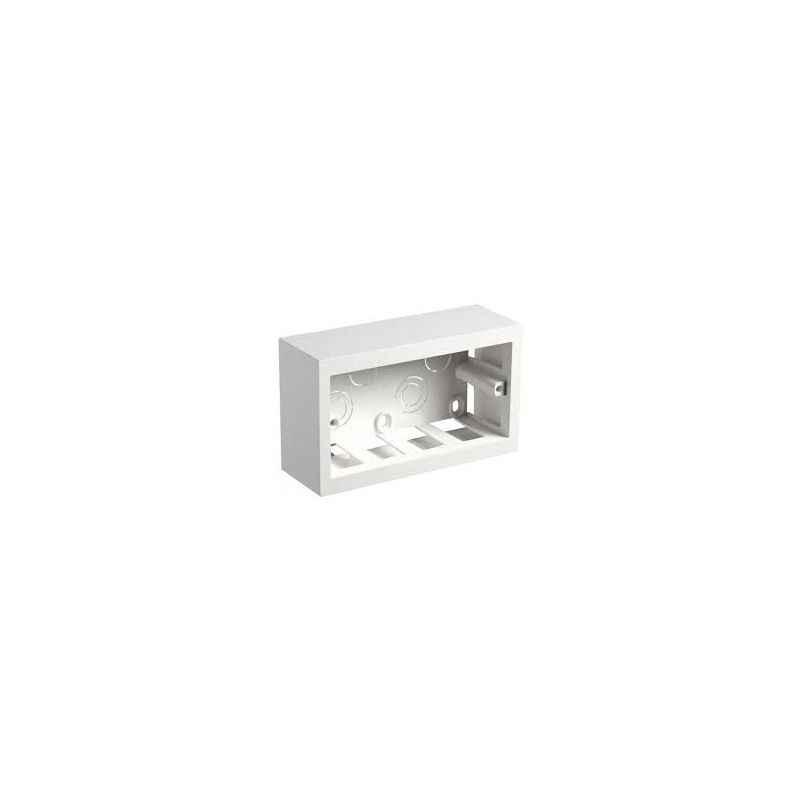 Legrand Myrius 12(2X6)M Metal Surface Box , 6890 21 (Pack of 6)