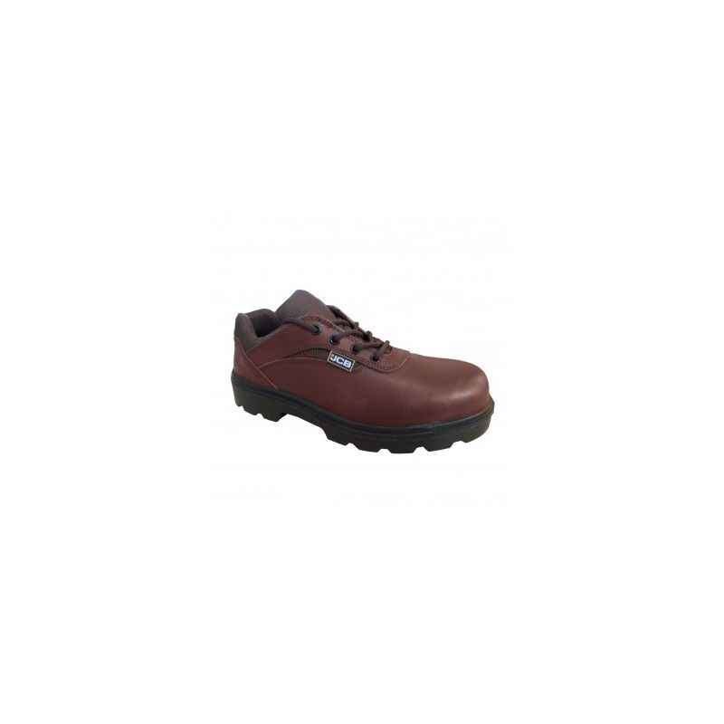 JCB PICKER Steel Toe Brown Safety Shoes, Size: 10