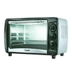 Prestige 1500W Black & Silver Oven Toaster Grill, POTGH 36 PCR