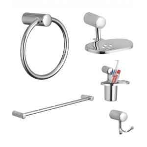 Kamal Esteem Stainless Steel Bathroom Set, ACC-1150