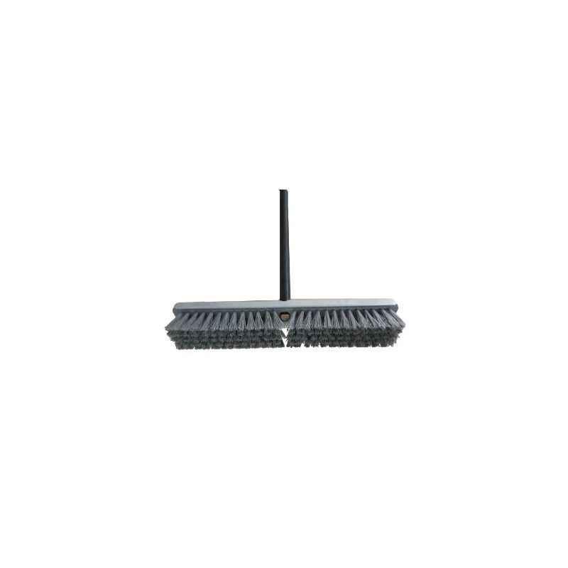 FLOOR 55cm Scrubbing Brush Aluminium Handle