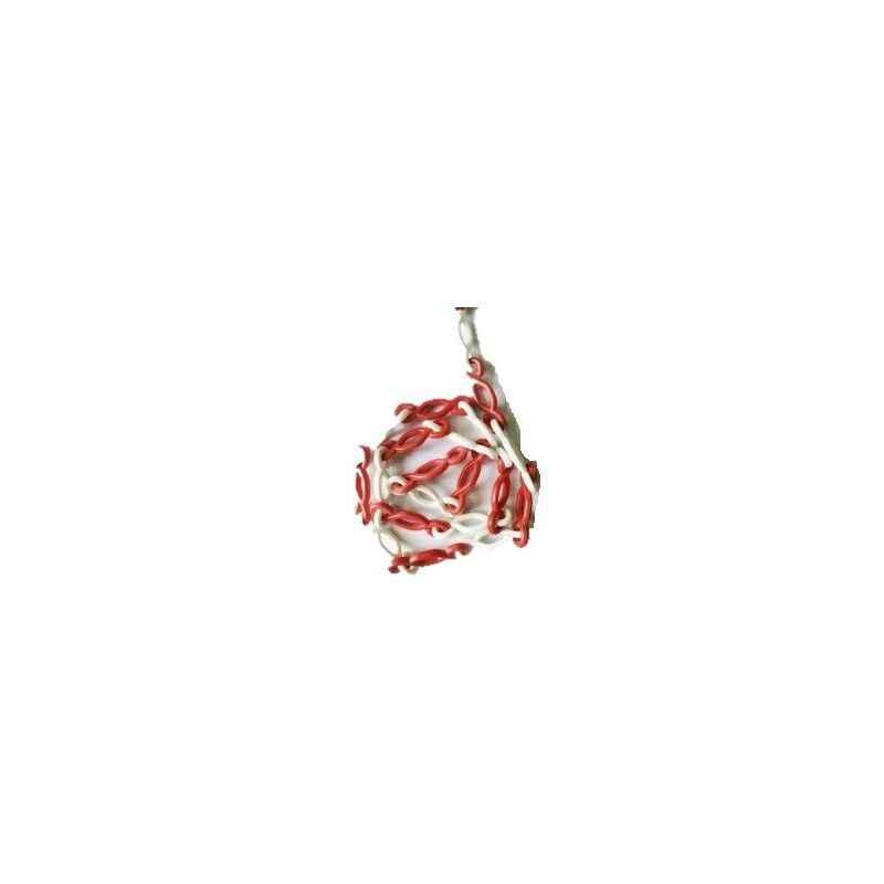Bellstone 10m Red & White PVC S Hook Chain, SA10