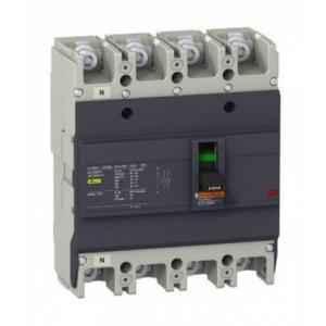 Schneider 200A 36kA Easypact EZC MCCB for Distribution Network, EZC250H4200