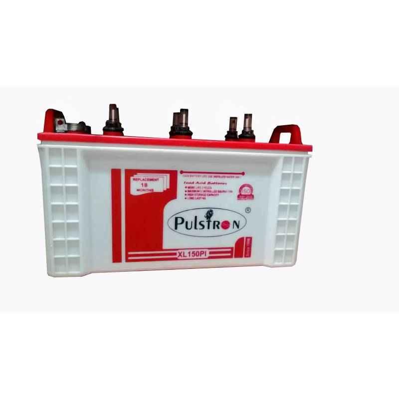Pulstron 12V Heavy Duty Tubular Dry Inverter Battery XL-150PI