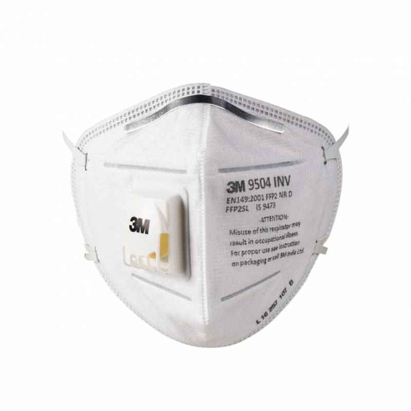 3M 9504 IN White Particulate Respirator (Pack of 100)