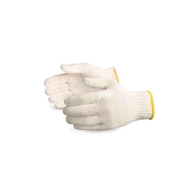 Safies 70g White Cotton Knitted Gloves (Pack of 96)
