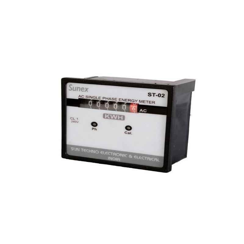 Sunex Direct Connection Digital Panel Meter, ST-02