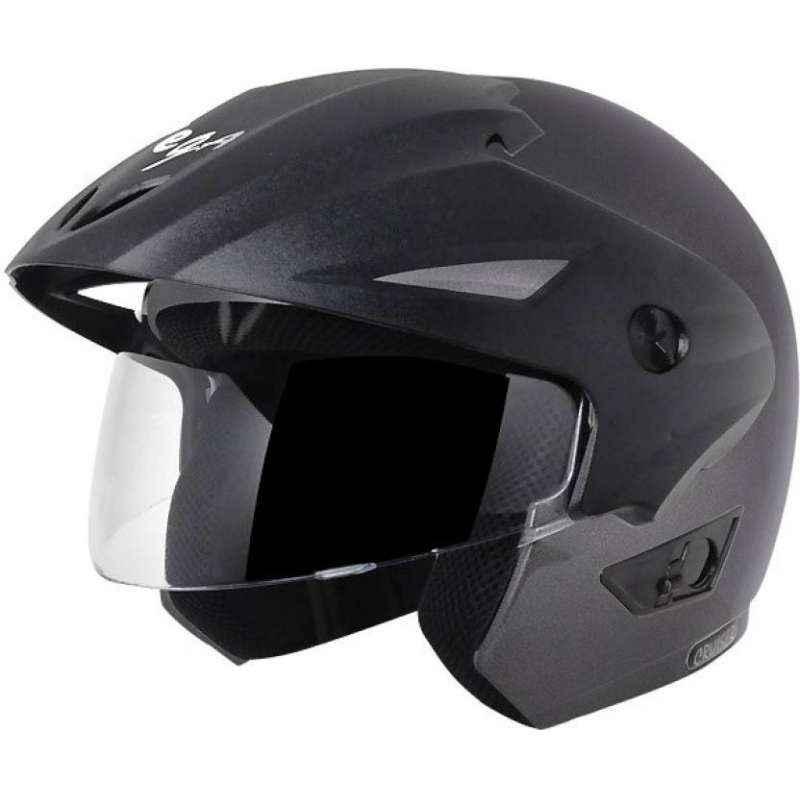 Vega Cruiser WP Anthracite Open Face Motorbike Helmet, Size (Large, 600 mm)