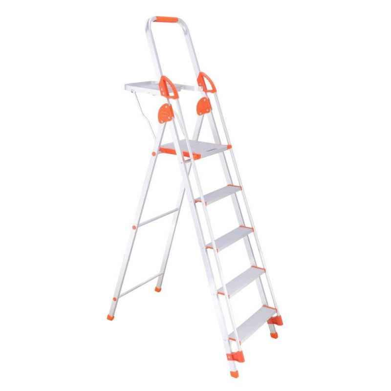 Bathla Sure 4 Step Titanium Plus Ladder with Pail Tray