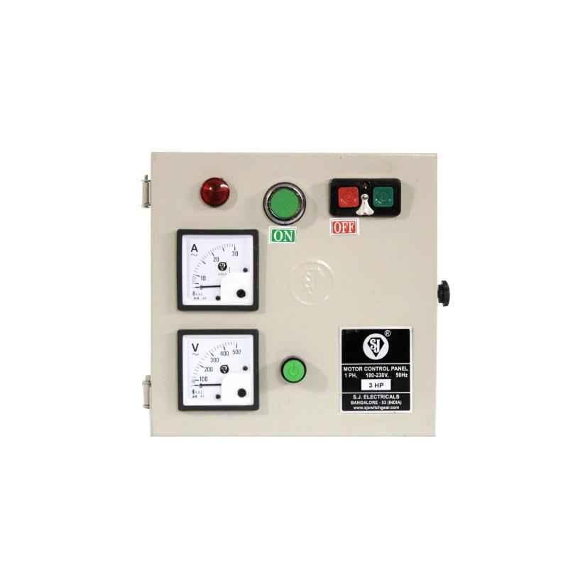 SJ MJ2 13-21A Single Phase Motor Control Panel, P53