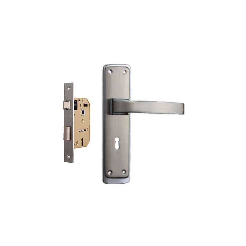 Plaza Orbit 65mm Mortice Lock with Stainless Steel Handle & 3 Keys