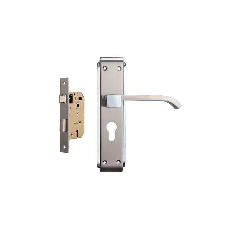 Plaza Rapid 65mm Mortice Lock with Stainless Steel Handle & 3 Keys