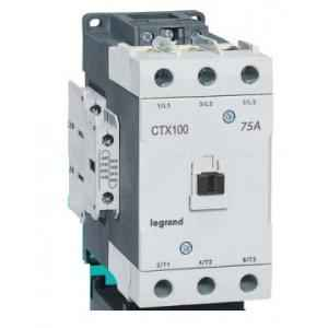 Legrand 3 Pole Contactors CTX³ 100 Screw Terminal Integrated Auxiliary Contacts 2 NO + 2 NC, 4162 04