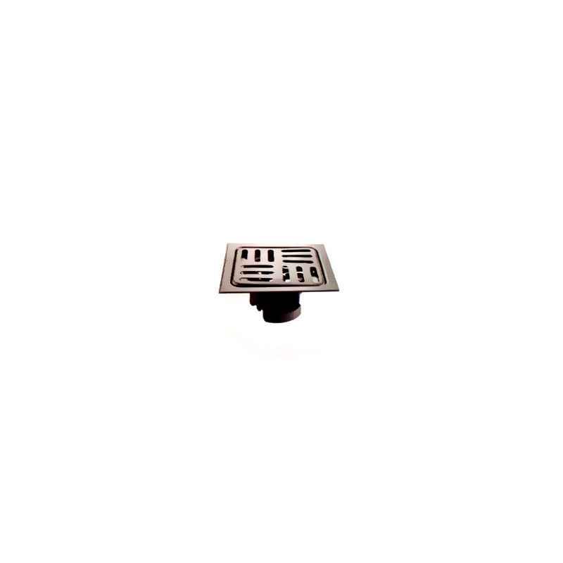 Jayna Lotus LSF 127 Matt Floor Drain, Size: 127 x 127 mm