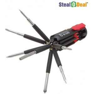 Stealodeal 8 in 1 Standard Screwdriver Set