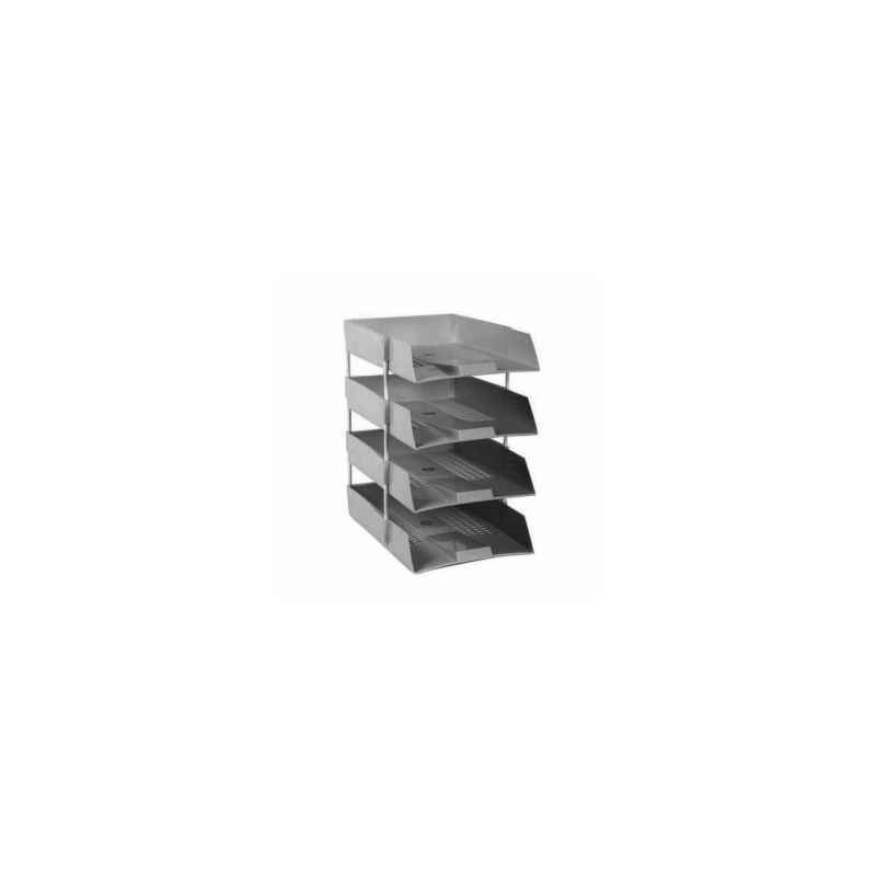 Omega Assorted 4 Tier Office Tray with Riser, 1718PP