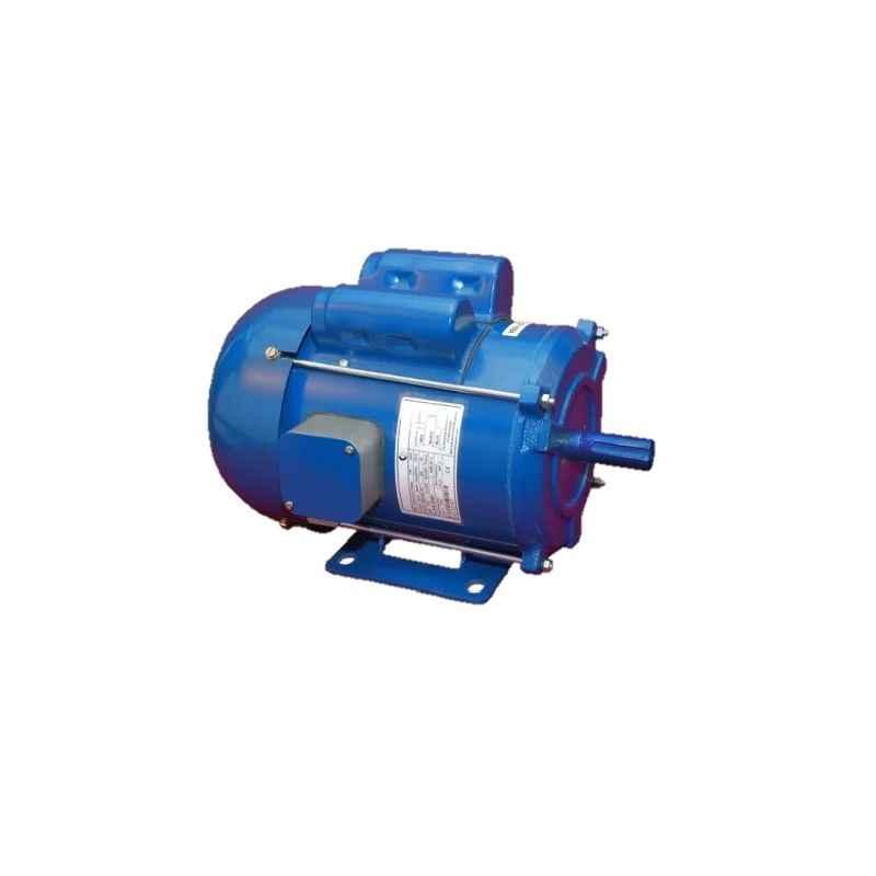 Crompton 2HP 4 Pole Single Phase Foot Mounted Induction Motor, GF 6834