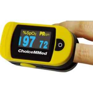 Choicemmed Yellow NMR Pulse Oximeter, MD300C20