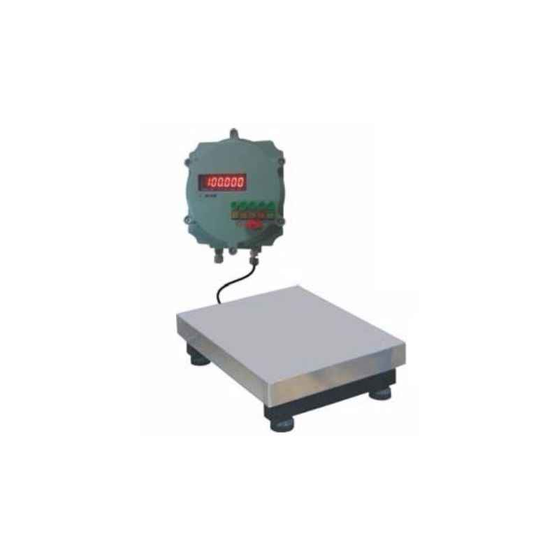 Aczet CTG 500F Stainless Steel Flame Proof Platform Scale, Capacity: 500 kg