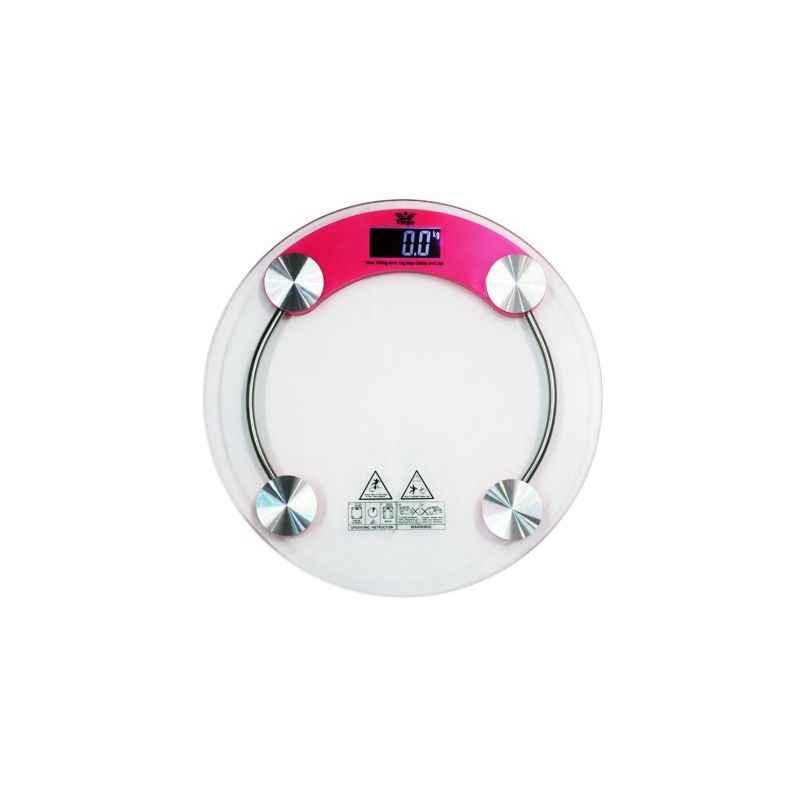 Virgo Glass Digital Personal Bathroom Weight Machine, 121-MJT