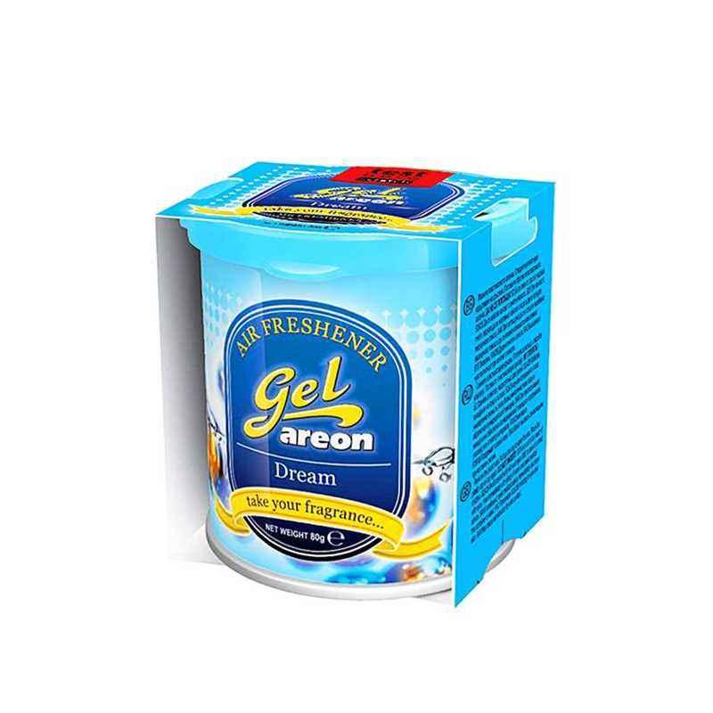 Areon 80g Dream Gel Air Freshener for Car