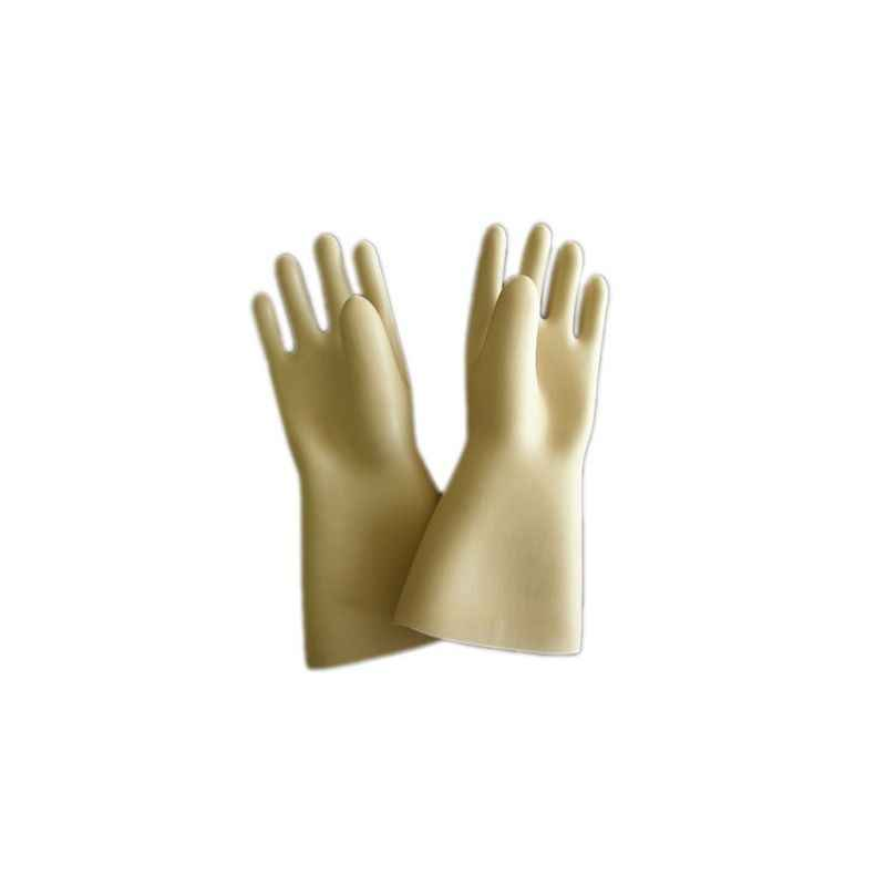 Gripwell 12 Inch Rubber Chemical Resistant Hand Gloves (Pack of 10)